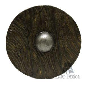 Buckler di legno