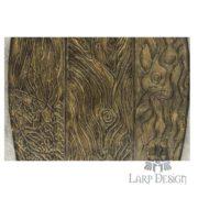 scudo di legno semplice
