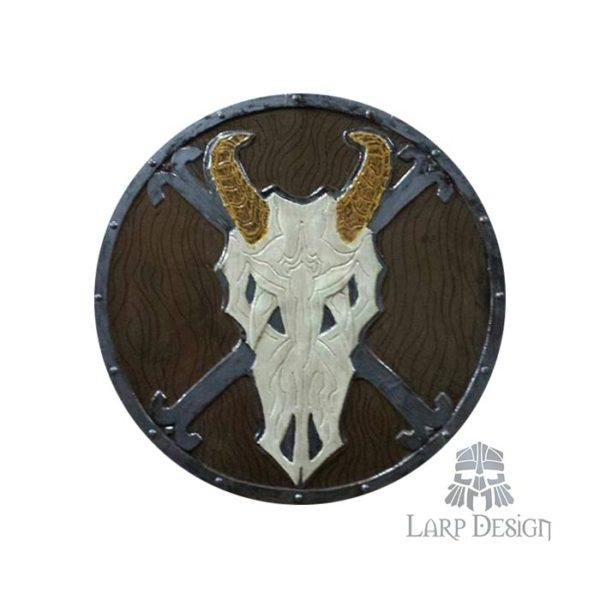 scudo teschio di capra